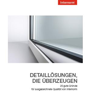 Internorm-Fenster 20 Gründe