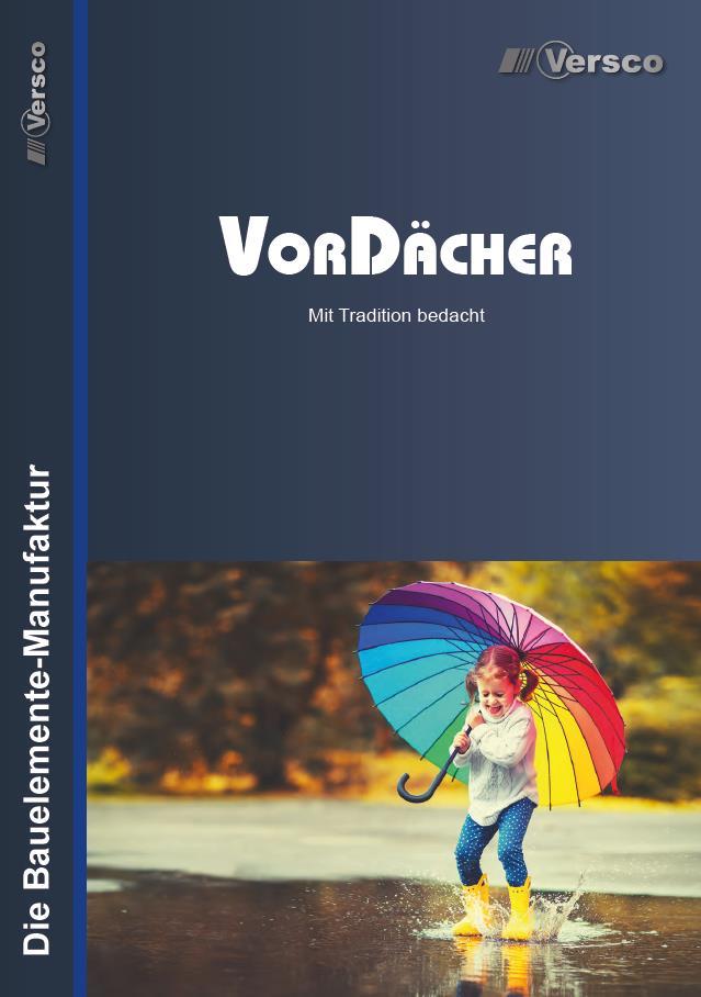 Versco-Vordaecher-Katalog