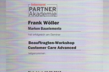 Internorm Custumer Care 2017 - Hr. Wöller