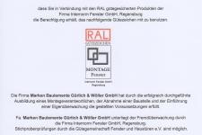 Internorm RAL-Montage 2017 - MARKEN Bauelemente