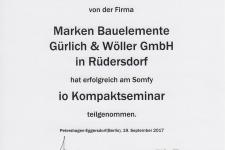 Somfy io Kompaktseminar 2017 - Hr. Wöller, Christian