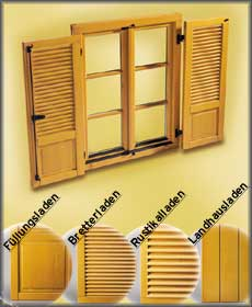 fensterklappen holz w rmed mmung der w nde malerei. Black Bedroom Furniture Sets. Home Design Ideas
