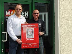Zertifizierung am 14.04.2010 von MARKEN Bauelemente Gürlich & Wöller GmbH